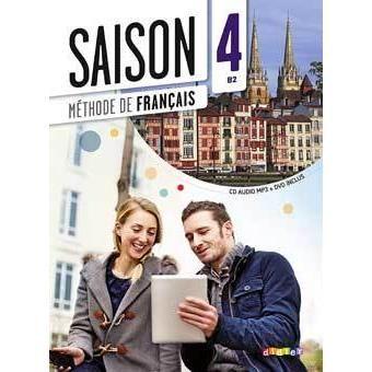 Saison 4, manuel langue aux Editions Didier.  Coordonné par Marie-Noëlle Cocton, enseignante au CIDEF.
