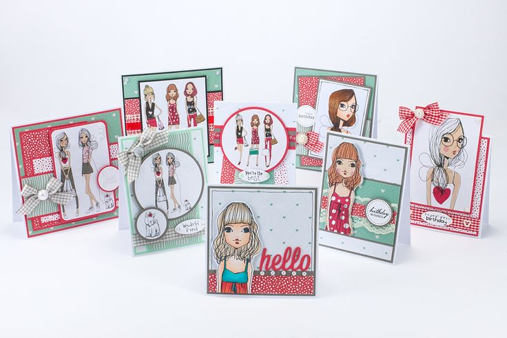 Make these cards with 'So Chic' one set in the 16 FREE craft papers provided with the April edition of Making Cards magazine. OUT NOW To order visit www.makingcardsmagazine.com or call 01778 395171. Making Cards is also available to purchase in craft shops, selected supermarkets, WHSmith and Hobbycraft stores