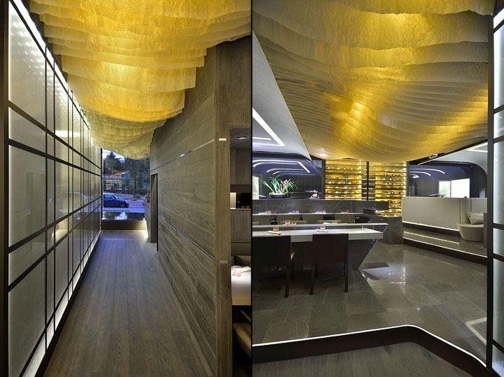 KBK Japanese restaurant by GBCAA Architects, Madrid   Spain restaurant