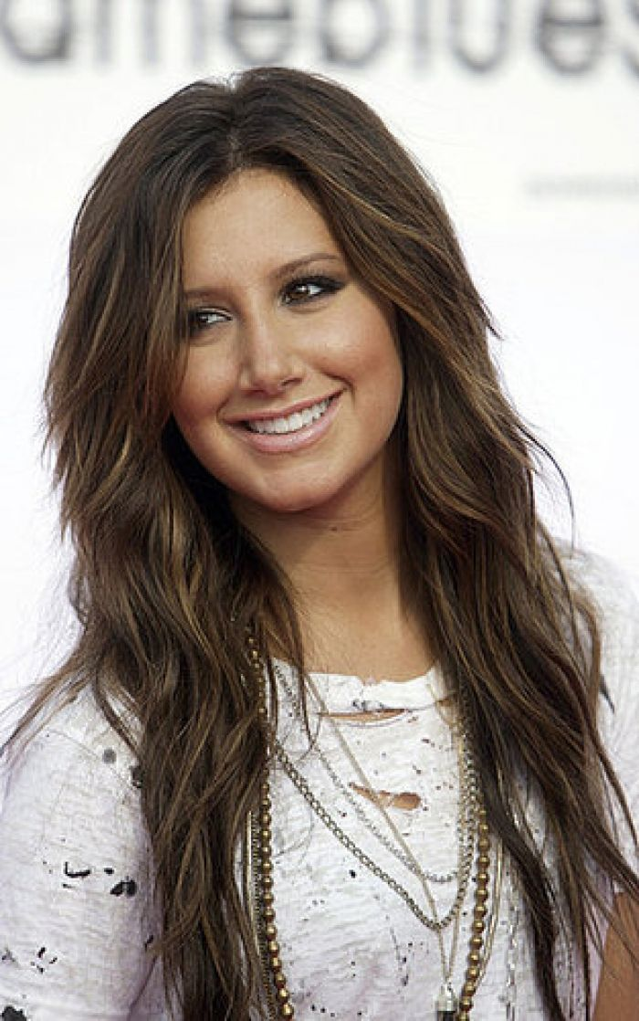 ashley tisdale brown hair  Hair Ideas  Pinterest  Brown hair colors, Brown hair and Hair color