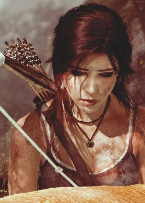 Tomb Raider - Great game, great artwork.