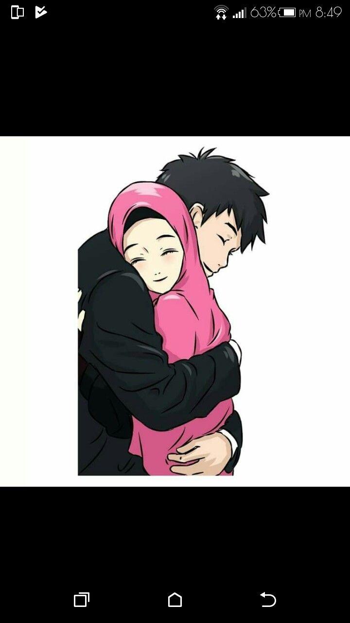 Couple Anime Muslimah Wallpaper Anime Wallpapers