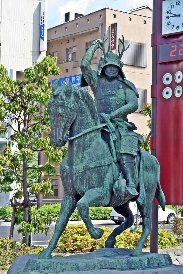 Statue of Sanada Yukimura