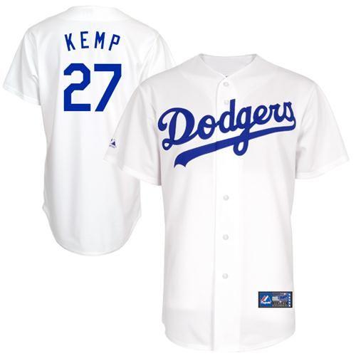 ... Matt Kemp L.A. Dodgers Womens 27 Majestic Replica Jersey - White Los  Angeles Dodgers ... bfc9ae079