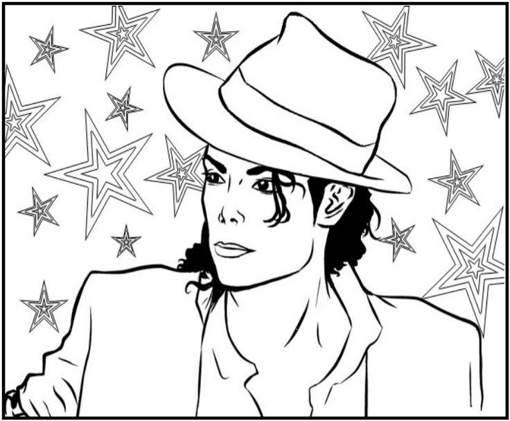 23 best Michael Jackson Coloring Book images on Pinterest | Coloring ...