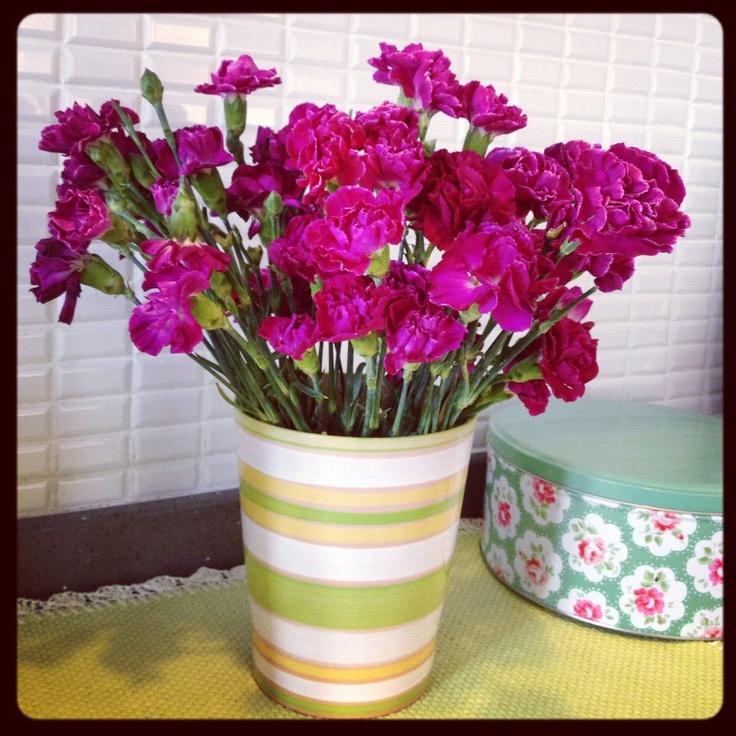 Pembe Çiçekler..