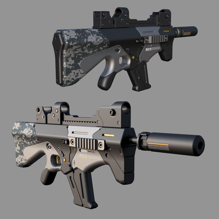 https://flic.kr/p/UcRYNL | 2017-04-27 (1) | fusion360 assault rifle concept by Aleksandar Mihajlovic