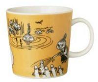 7. Moomin Mug Dark Yellow 1991-1996