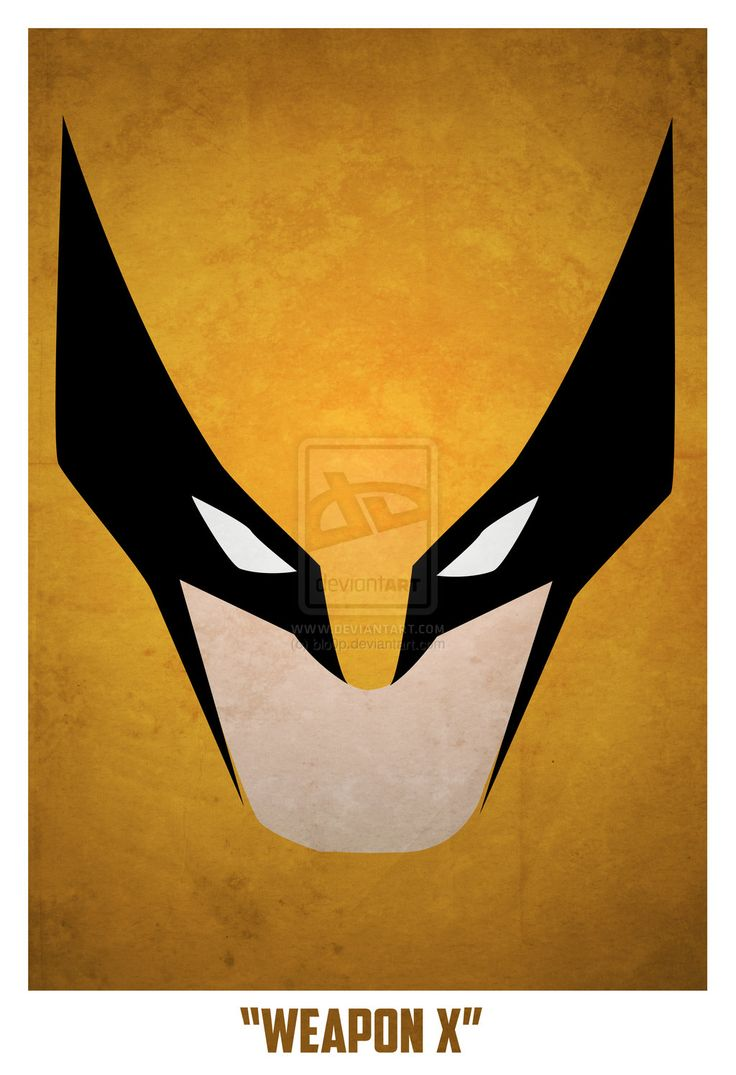 Bloop minimalist superhero posters art pinterest for Minimal art hero