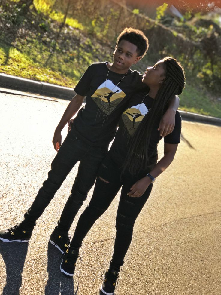 black and white couples outfits relationship