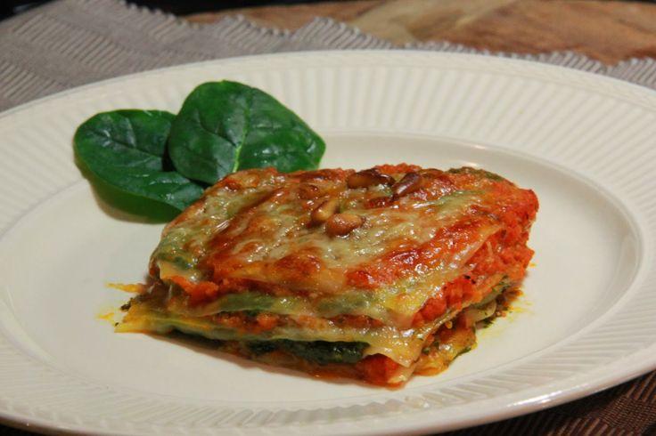 Mini lasagne met spinaziepesto - www.desmaakvancecile.com