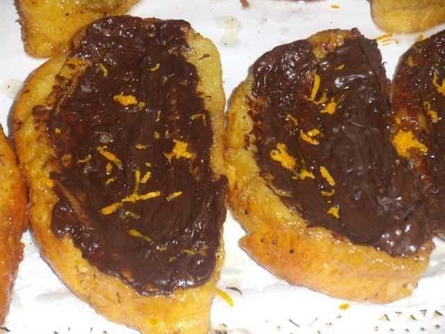 Torrijas con chocolate: otra forma de hacer torrijas esta Semana Santa. ¡Están buenísimas!