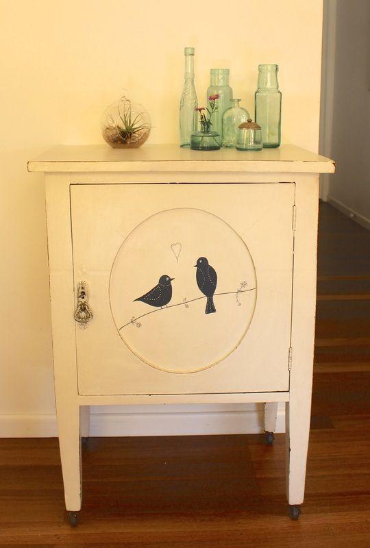 Bedside tables - Madame Zaza furniture and art