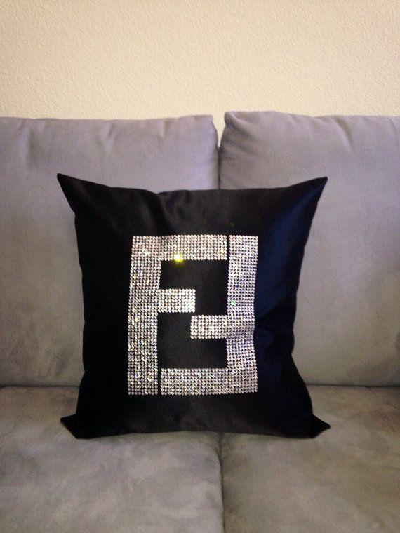 Fendi, Bling and Pillows on Pinterest