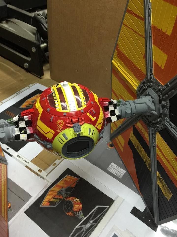 Tie Fighter Custom Paint St