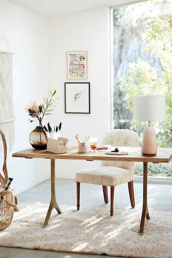 Nemus Dining Table By Anthropologie In Brown Size L Tables