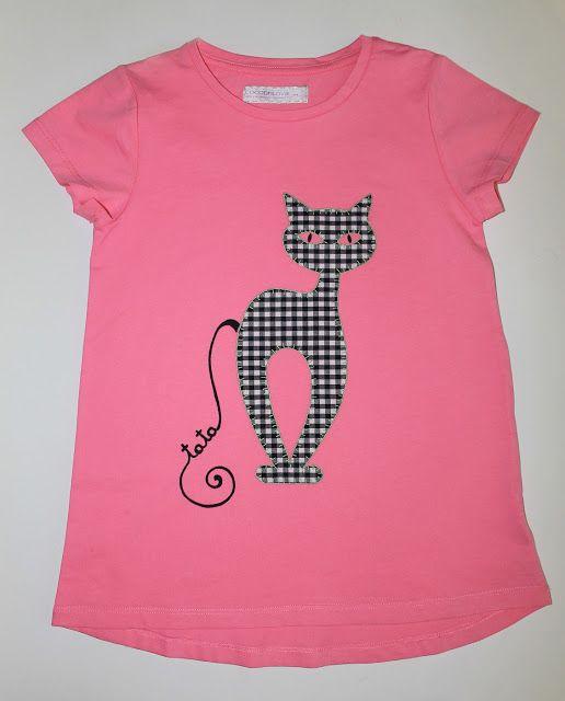 cocodrilova: camiseta gato para la hermana mayor   #camisetapersonalizada   #camiseta   #gato   #niña   #hechoamano  camiseta-gato-personalizada