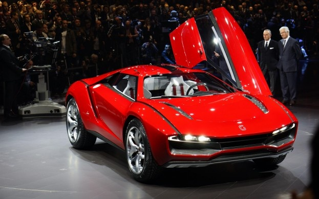 Best Niche Ever? Mid-Engined Italdesign 4WD Coupe Has Lamborghini V-10 - WOT on Motor Trend
