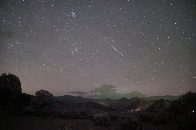 NASA expects up to 100 meteors per hour during the shower's peak.