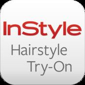 InStyle Hairstyle Try-On - Easily try on and adjust the hottest celebrity hairstyles on your own photo. Use the auto-detect technology to accurately determine your face shape and try on star style for that shape.