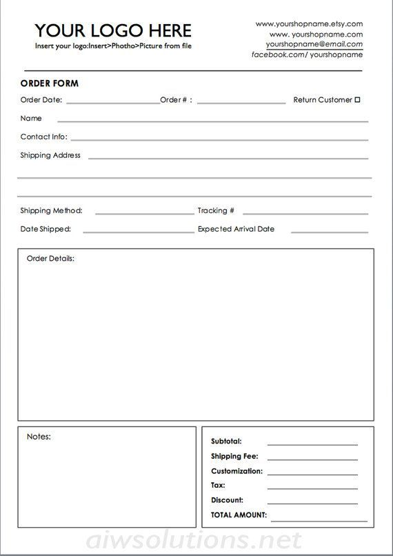 order form wholesale order form template ms word order form