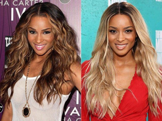hair style for dress best 10 ciara hair color ideas on ciara 5971 | 441a5971cf487eaae416e35fdf23004a color change blonde brunette