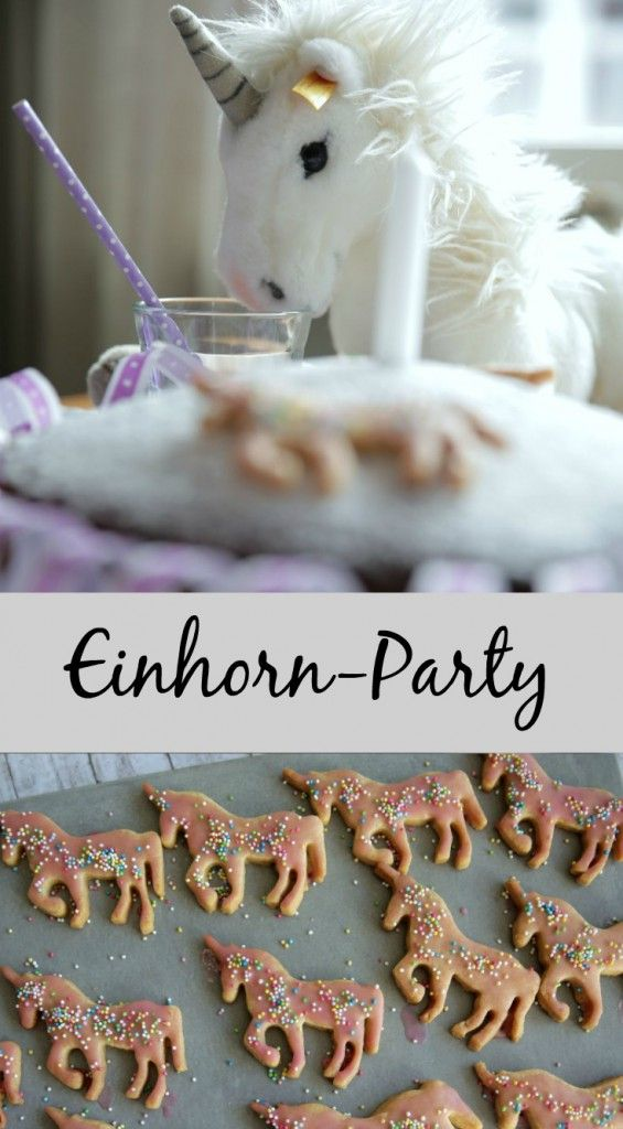 Einhorn Geburtstag: Von der Einladungskarte über Spiele bis zur Unicorn Pinata – alles für eine wilde Einhorn Party zu Hause.
