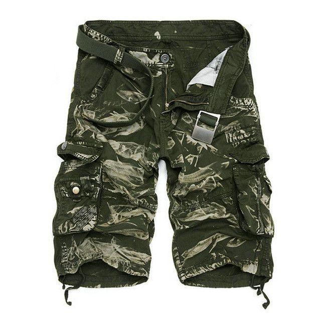 Multi-pocket Men Beach Shorts