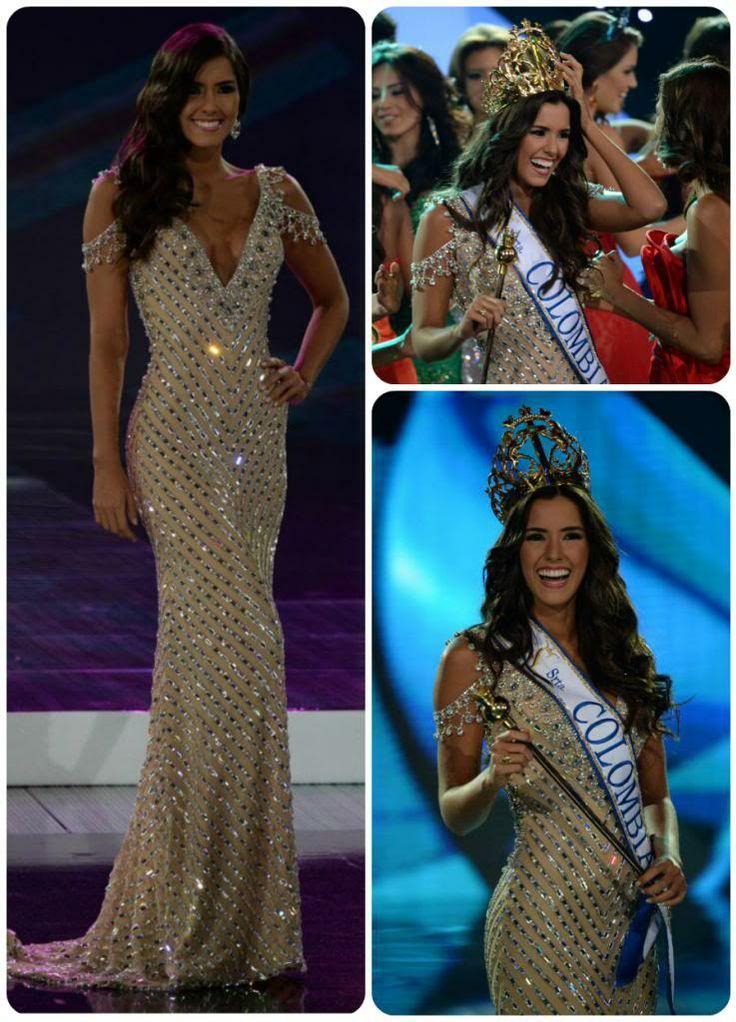 Paulina vega dieppa on pinterest miss universe 2015 paulina