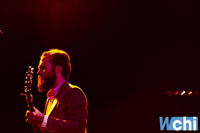 Iron and Wine at the Rivera March 4, 2011 by WCHI News, via Flickr