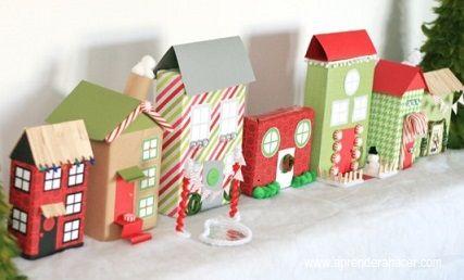 Adornos para esta navidad casitas navide as mi nuevo for Villas navidenas de porcelana
