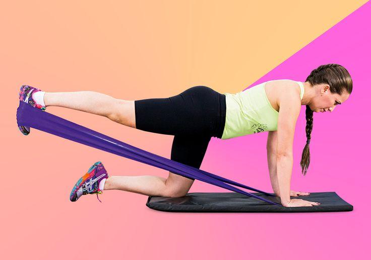 8 exercícios com faixa para fazer em casa