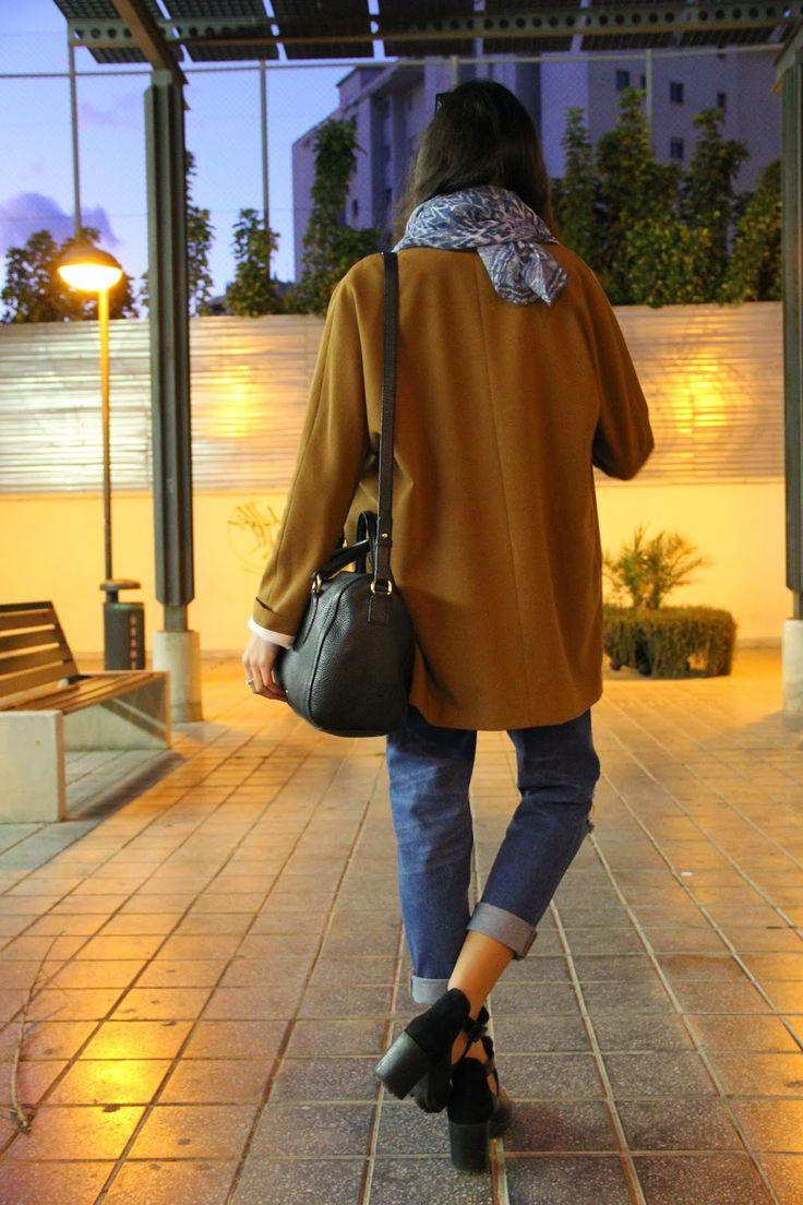 Boyfriend blazer and mom jeans