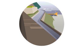 Road // Jean-Philippe Garcia // art vectoriel