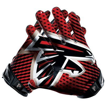 Nike Atlanta Falcons Vapor Jet 2.0 Team Authentic Series Gloves