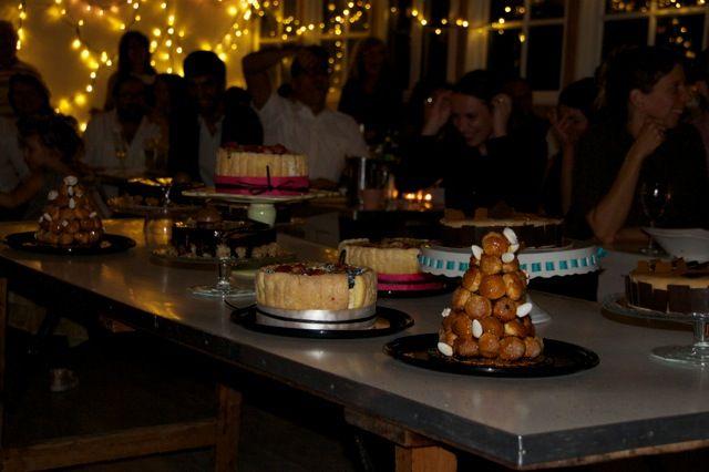 Table à desserts de Géraldine Peaumier (Pâtisserie G&G)