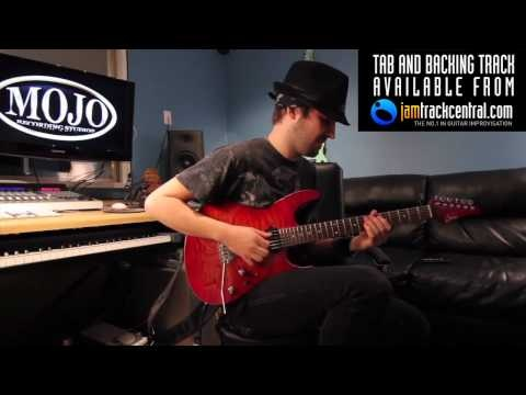 The incredible Andy Wood shreds. Video by thetunepeddler.com #guitar #shred