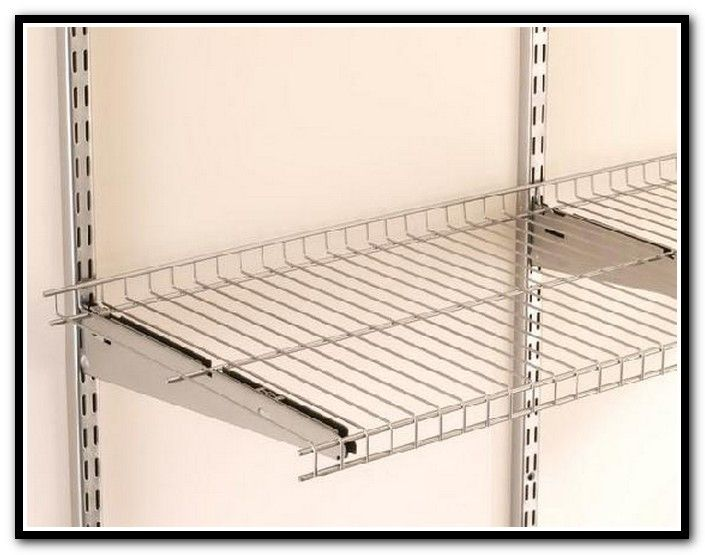 Wire Rack Shelving Wall Mount
