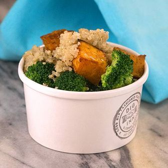 Quinoa & Roasted Fresh Pumpkin with Broccoli - from Dig Inn Seasonal Market