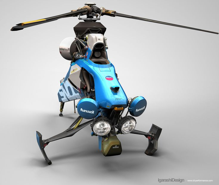 3D model for RC Helicopter