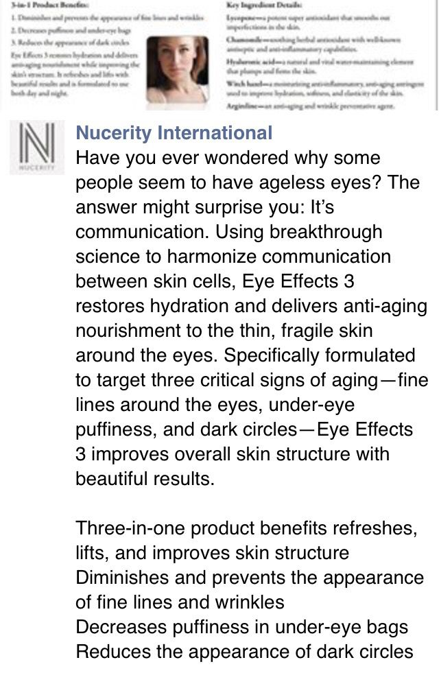 Eye effects from #Nucerity #TheConnectorInt