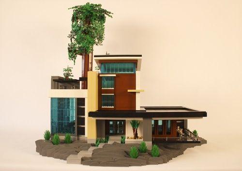 308 Best Lego Houses Images On Pinterest Lego Building Lego