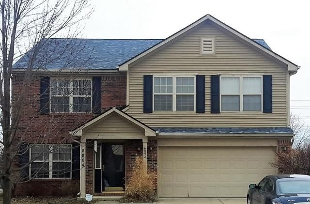 Before And After Before And After Roof Replacement In Mccordsville Indiana Roof Cost Roof House Styles