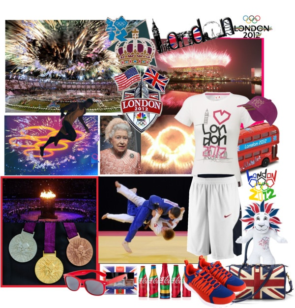 """London olympics 2012"" by ninigreen ❤ liked on Polyvore"