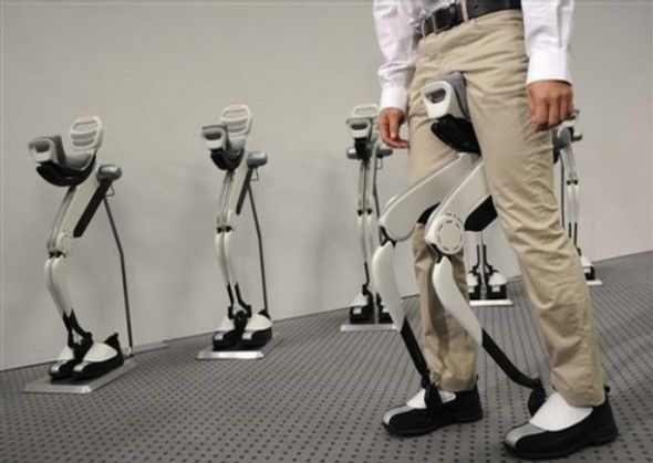 If Asimo Can Do It, You Can Too! Assistive Walking Devices From Honda
