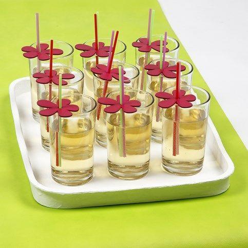 Sommerlig bordpynt - pyntede æsker og forlorne popcakes |DIY vejledning