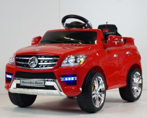 Original battery operated ride on mercedes benz ml350 for Mercedes benz toy car ride on