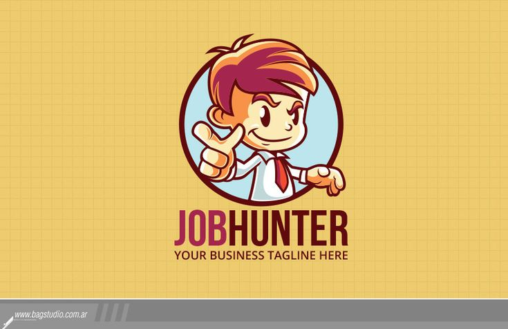 Cartoon Character Logo / Mascot Design by Gabey005 - 45372