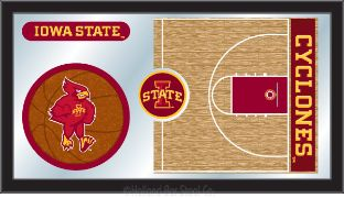 Iowa State Cyclones Mirror Basketball