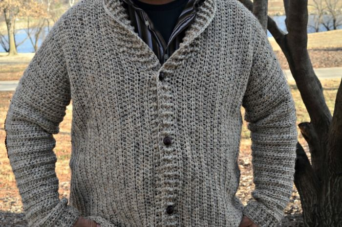 The Cozy Coed Cardigan pattern is READY! Perfect for MEN or WOMEN, the pattern features vertical rows and a killer collar. Add buttons OR a zipper!